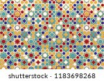 seamless islamic patterns in... | Shutterstock .eps vector #1183698268