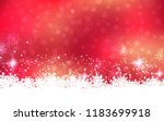 christmas and new year abstract ... | Shutterstock .eps vector #1183699918