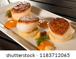 Pan Seared Diver Scallops With...