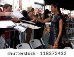 los angeles   nov 8   naomie... | Shutterstock . vector #118372432