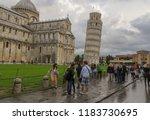 pisa  italy   october 2012 ... | Shutterstock . vector #1183730695