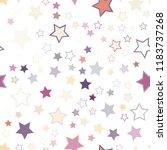 seamless vector repetitive... | Shutterstock .eps vector #1183737268