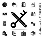 keywords icon. digital... | Shutterstock .eps vector #1183738075