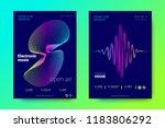 modern music abstract...   Shutterstock .eps vector #1183806292