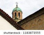 bell tower of the assumption...   Shutterstock . vector #1183873555
