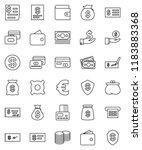 thin line vector icon set  ...   Shutterstock .eps vector #1183883368