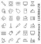 thin line vector icon set  ...   Shutterstock .eps vector #1183886158