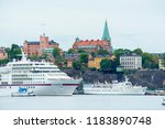 stockholm  sweden  8 5 2018 ... | Shutterstock . vector #1183890748