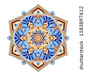 mandala. ethnic decorative... | Shutterstock .eps vector #1183897612