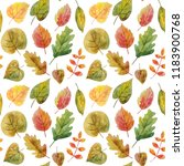 watercolor seamless pattern... | Shutterstock . vector #1183900768