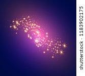 white sparks glitter special... | Shutterstock .eps vector #1183902175