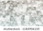 geometric rumpled triangular... | Shutterstock .eps vector #1183906135