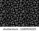 crystals pattern  polihedrons... | Shutterstock .eps vector #1183924225