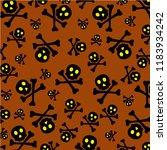 asbtarct halloween background | Shutterstock . vector #1183934242
