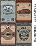 car service and auto repair... | Shutterstock .eps vector #1183939192