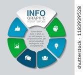vector infographic template for ... | Shutterstock .eps vector #1183939528