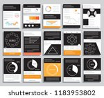 brochure design for business... | Shutterstock .eps vector #1183953802