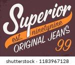 athletic varsity typography...   Shutterstock .eps vector #1183967128