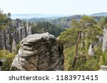 the sandstone rocks called... | Shutterstock . vector #1183971415