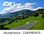 panorama in austria  tirol 2018 | Shutterstock . vector #1183985425
