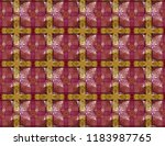 unique kaleidoscope design.... | Shutterstock . vector #1183987765