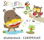 vector illustration with... | Shutterstock .eps vector #1183993165