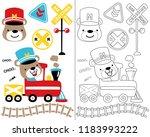 vector cartoon illustration...   Shutterstock .eps vector #1183993222