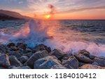 Landscape With Waves Crashing...