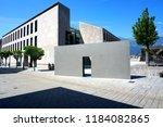 center city. vaduz.... | Shutterstock . vector #1184082865