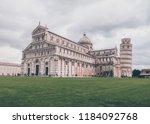 pisa  italy   october 2012 ... | Shutterstock . vector #1184092768