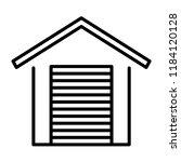 warehouse  storage  garage icon ...