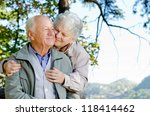 Beautiful Senior Couple In The...