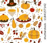 seamless pattern...   Shutterstock .eps vector #1184157142