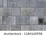concrete or cobble gray...   Shutterstock . vector #1184160958