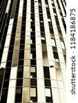 skyscraper. modern arhitecture. | Shutterstock . vector #1184186875
