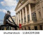 london  may  2018  royal opera... | Shutterstock . vector #1184209288