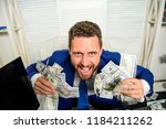 profit and richness concept.... | Shutterstock . vector #1184211262