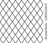 seamless net pattern. geometric ...   Shutterstock .eps vector #1184212615