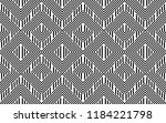seamless pattern with striped... | Shutterstock .eps vector #1184221798