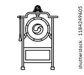 asian gong instrument | Shutterstock .eps vector #1184249605