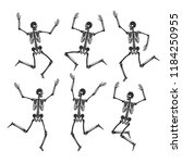 Set Of Dancing And Jumping...