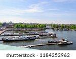 amsterdam netherlands 05 05... | Shutterstock . vector #1184252962