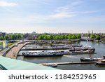 amsterdam netherlands 05 05... | Shutterstock . vector #1184252965