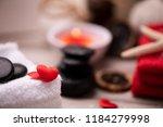 wellness docoration on...   Shutterstock . vector #1184279998