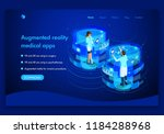 business website template... | Shutterstock .eps vector #1184288968