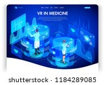 website template design.... | Shutterstock .eps vector #1184289085
