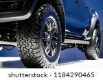 wheel pickup truck.car mag... | Shutterstock . vector #1184290465