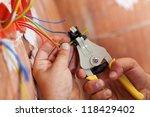 Electrician Peeling Off...