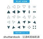arrow icon vector design...