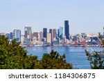 view of the seattle skyline | Shutterstock . vector #1184306875